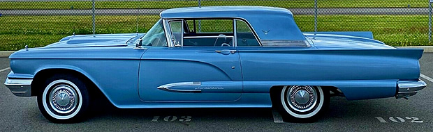 side view of a 59 t-bird