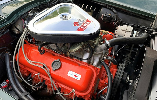 Mighty 427 Turbo-Fire V8 in a 67 Vette