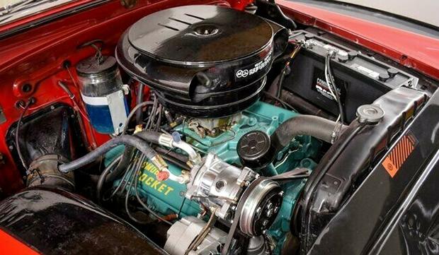 1953 Olds Rocket 303 V8 engine