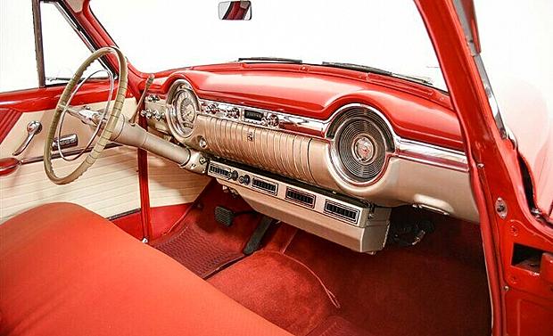 interior shot of a 53 Oldsmobile Super 88