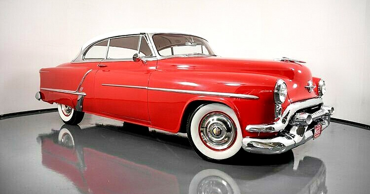 1953 Oldsmobile Super Eighty-Eight Holiday Hardtop
