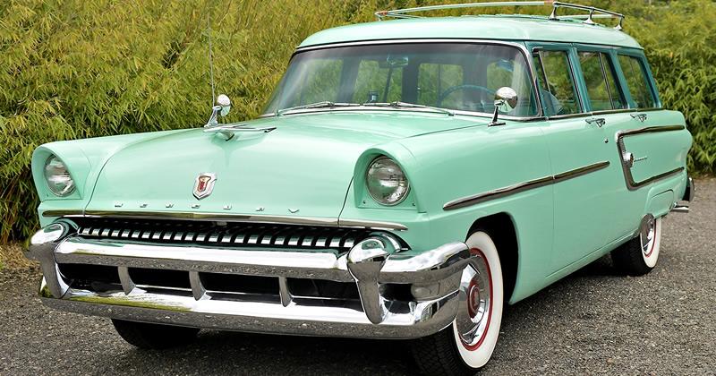 1955 Mercury Custom Wagon