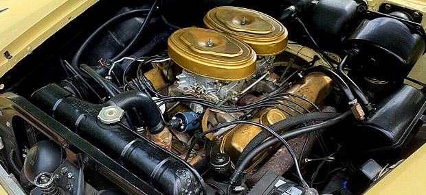 305 horsepower, 350 cubic inch Golden Commando