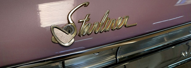 1960 Starliner trunk script.
