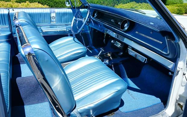 Impala SS interior from 1965