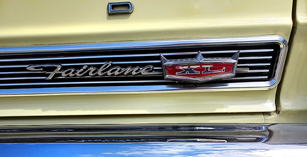 66 Fairlane 500 XL Badge