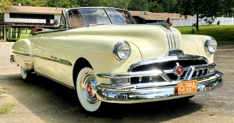 1951 Pontiac Chieftain Deluxe Convertible