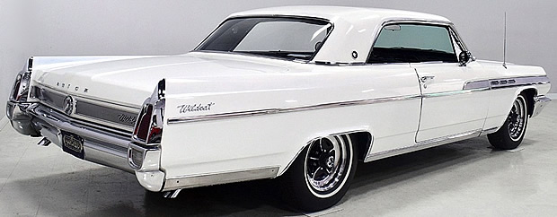 19rear view of a 63 Buick Wildcat63-buick-wildcat-sport-coupe-rear