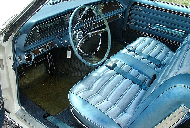 interior shot - 66 Chevrolet Caprice