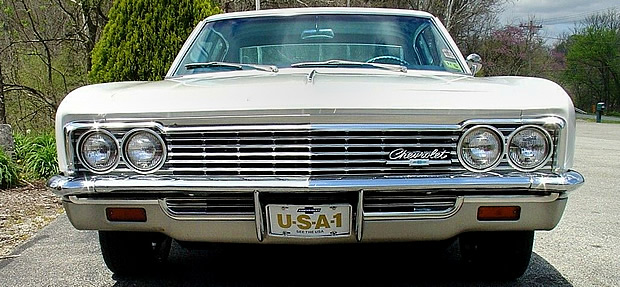 Front view of a 66 Caprice