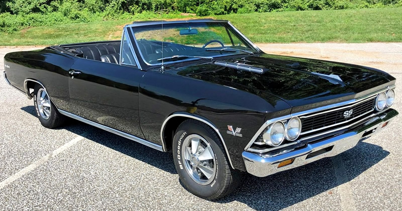 1966 Chevrolet Chevelle Convertible SS 396