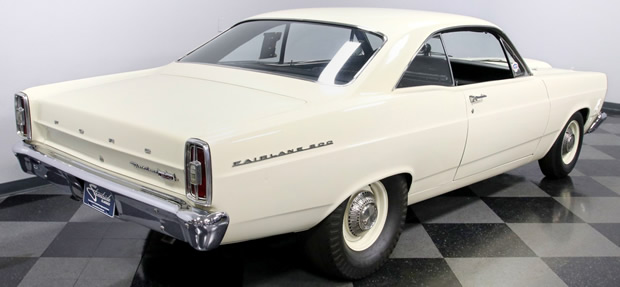 rear view of a 66 R-code Fairlane