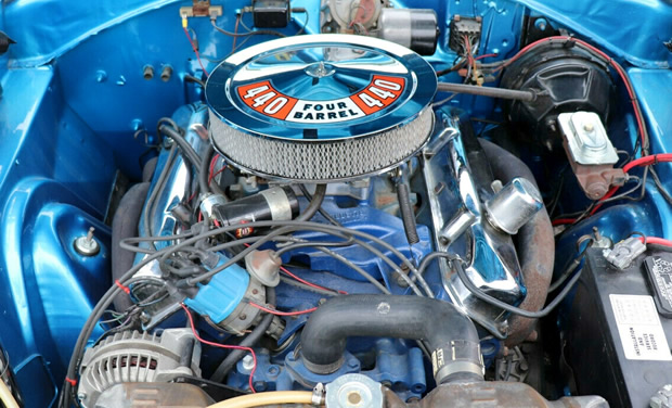 440 V8 fitted in a 1968 Dodge Coronet R/T