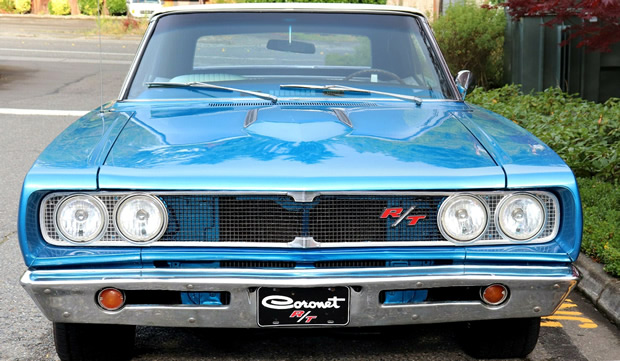 front view of a 68 Dodge Coronet R/T
