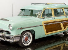 1954 Mercury Monterey Station Wagon in Parklane Green