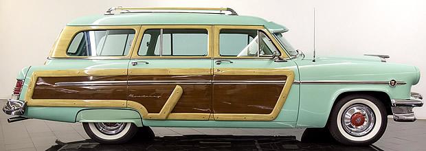 54 Monterey Wagon by Mercury