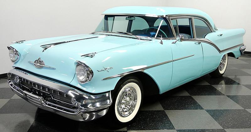 1957 Oldsmobile Starfire 98 Holiday Hardtop