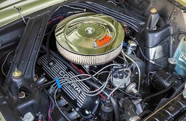 1965 Ford 289 cubic inch V8 - 200 horsepower