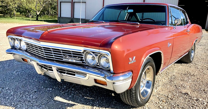 1966 Chevrolet Caprice with 396 V8