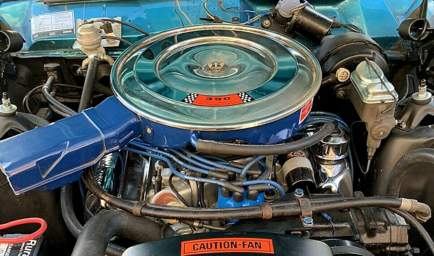 1969 Ford 390 V8 fitted to a Torino GT