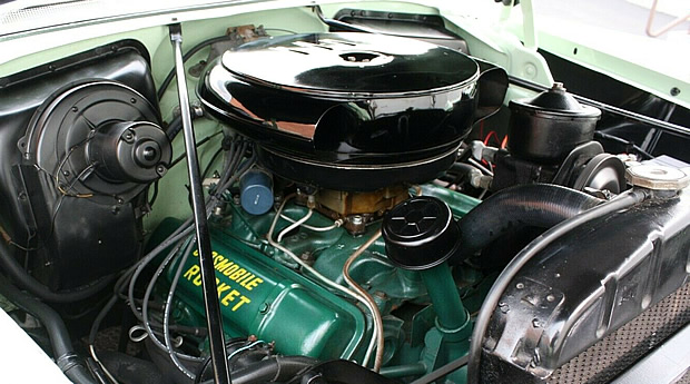 Oldsmobile Rocket 324 V8 from 1954