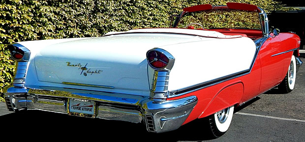 1957 Oldsmobile Starfire Ninety-Eight Convertible with J2 Tri-Power