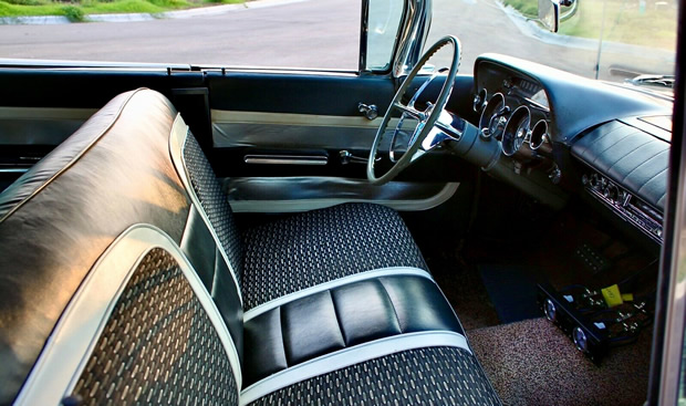 original interior of a 1959 Buick Invicta
