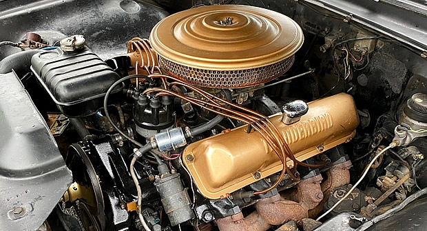 Original 390 V8 in a 61 Ford Starliner