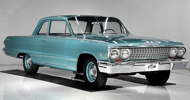 1963 Chevrolet Biscayne with 409 V8