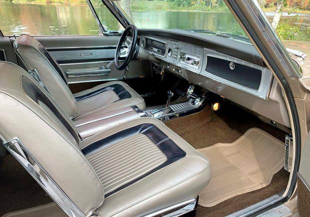65 Dodge Coronet 500 Interior