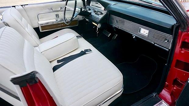 1966 Lincoln Continental Interior