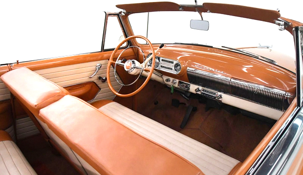 1954 Chevrolet Bel Air Convertible Interior