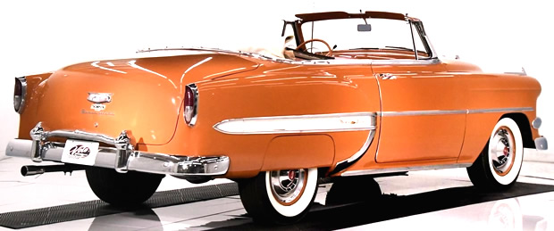 1954 Chevy Bel Air Convertible Rear