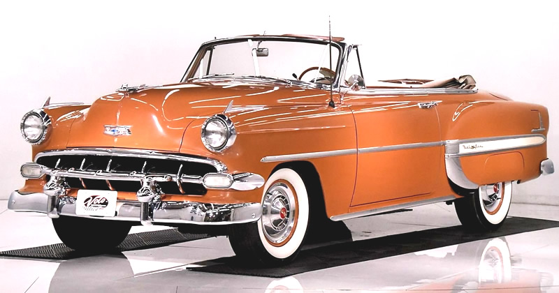 1954 Chevrolet Bel Air Convertible