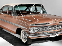 1959 Chevrolet Impala with just 3 original miles
