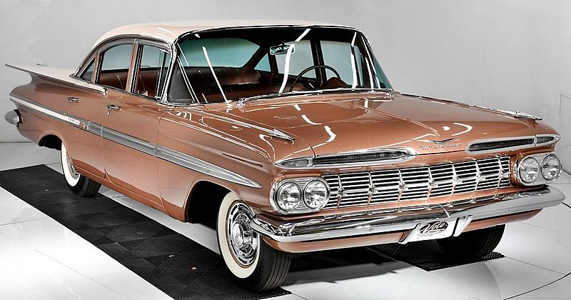 1959 Chevrolet Impala with just 3 original miles