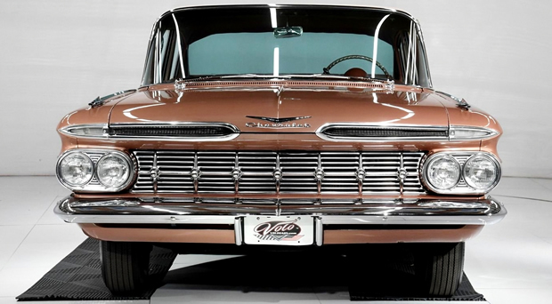 Front of a 59 Chevy Impala
