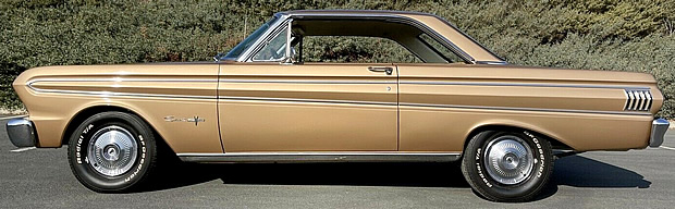 side view of a 1964 Ford Falcon Sprint 2-door hardtop