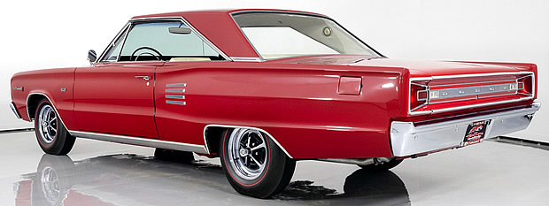 Rear view of the 1966 Coronet