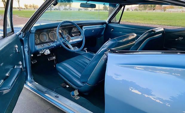 67 Chevy Impala SS Interior