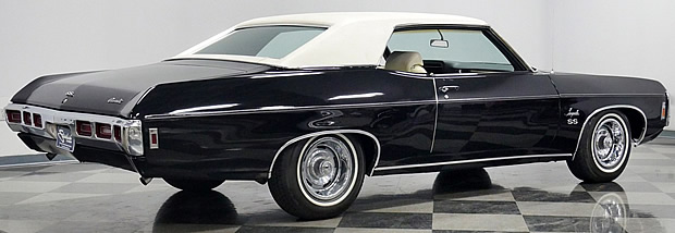69 Chevy Impala SS 427 - rear view