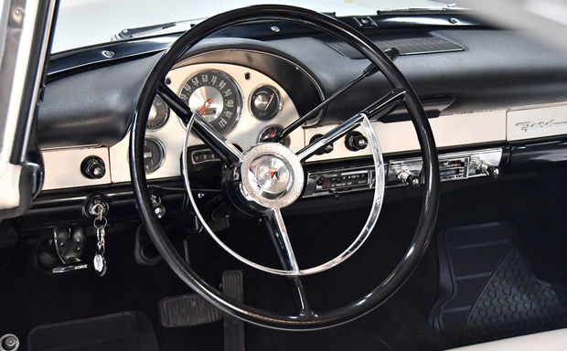 new for 1956 ford instrument panel
