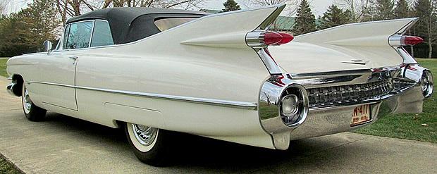 1959 Cadillac Convertible - fins