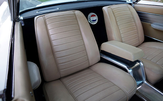 rear seats of a 1960 300F by Chrysler