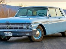 1962 Ford Galaxie 500 2 door Club Sedan