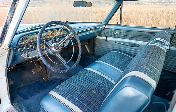 1962 FOrd Galaxie interior