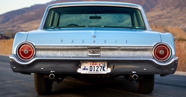 Rear of the 1962 Galaxie 500