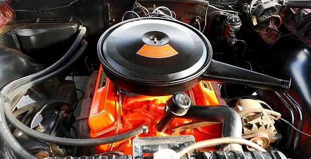 1966 Chevy 327 Turbo-Fire V8