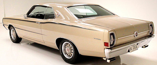 1968 Ford Torino GT Rear View